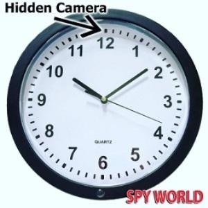 Clock Hidden Camera Image