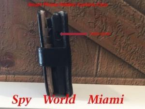 Hidden phone case camera Image