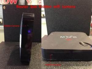 Router Box Hidden Camera Image