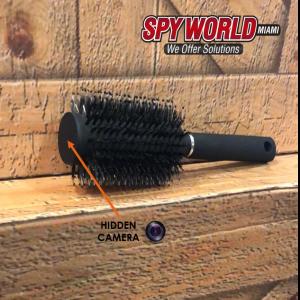 First hidden brush wifi camera