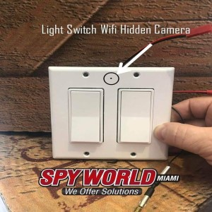 Light Switch Wifi Hidden Camera